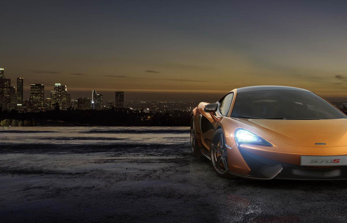 570S – McLaren unveils its new 570 hp Porsche-rivalling econobox at NYC Auto Show - slide 11