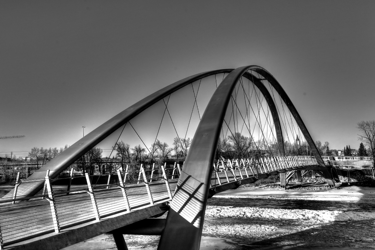 Calgary's $25 mil St. Patricks 'Skipping Stones' Bridge is finally realized - slide 1