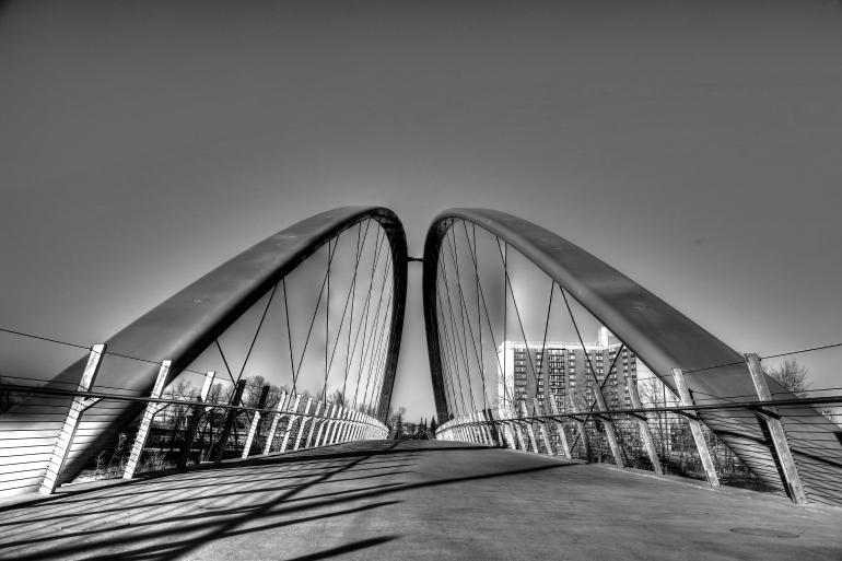 Calgary's $25 mil St. Patricks 'Skipping Stones' Bridge is finally realized - slide 3