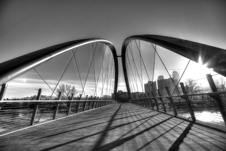 Calgary's $25 mil St. Patricks 'Skipping Stones' Bridge is finally realized - slide 2