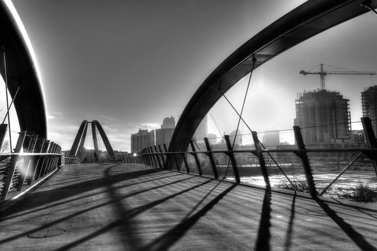 Calgary's $25 mil St. Patricks 'Skipping Stones' Bridge is finally realized - slide 10