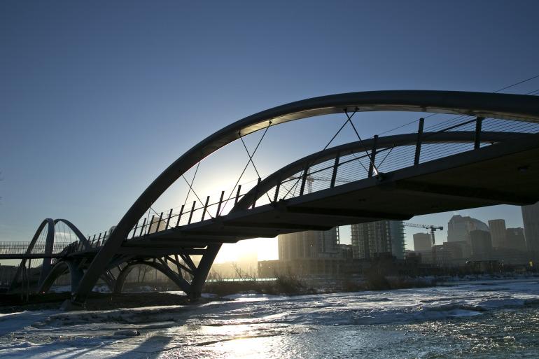 Calgary's $25 mil St. Patricks 'Skipping Stones' Bridge is finally realized - slide 11