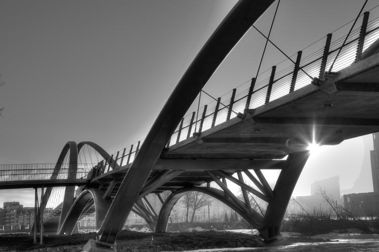 Calgary's $25 mil St. Patricks 'Skipping Stones' Bridge is finally realized - slide 12