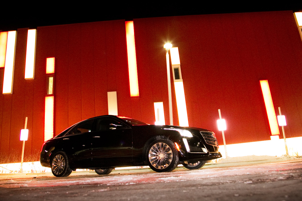 NO HOONING OF THE IN-LAWS IN CADILLAC'S NEW CTS4 LUXURY BARGE - slide 1