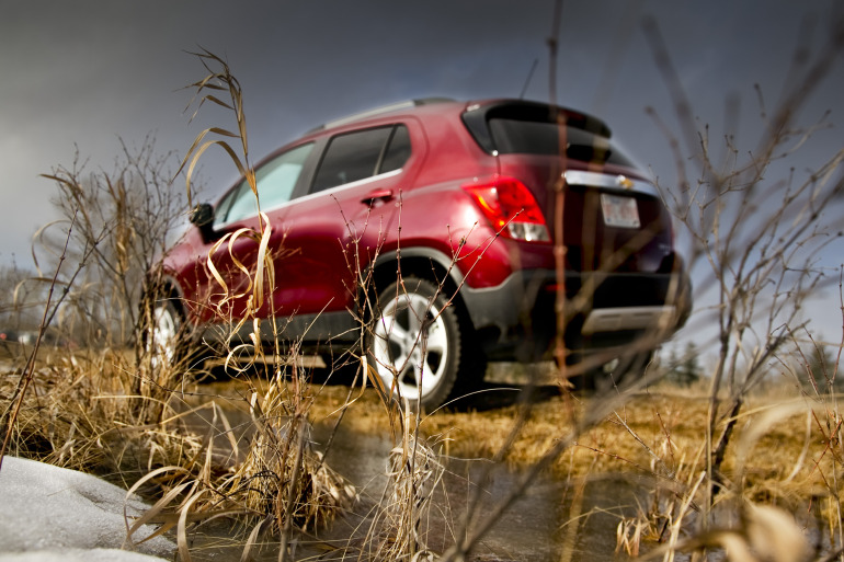 MAKING TRAX: Tooling about in Chevy's latest sport ute/CUV/SUV - slide 5