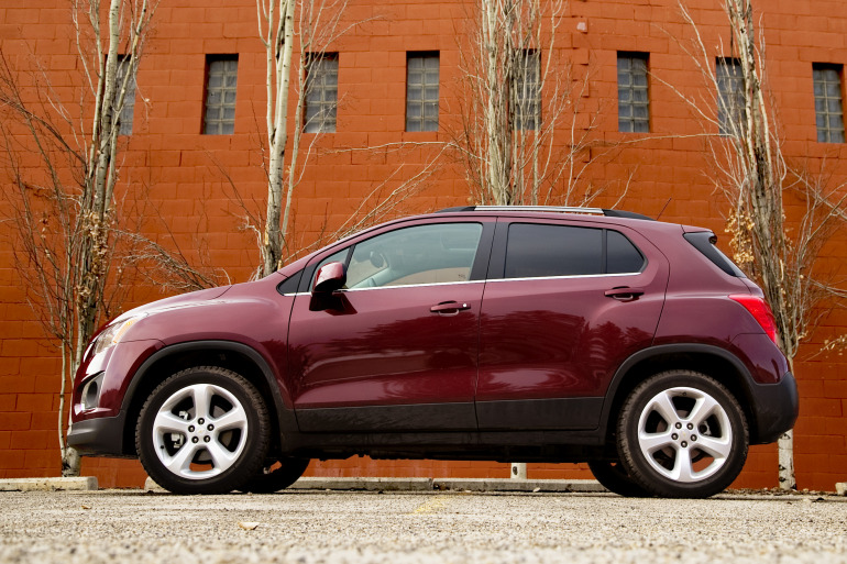 MAKING TRAX: Tooling about in Chevy's latest sport ute/CUV/SUV - slide 1