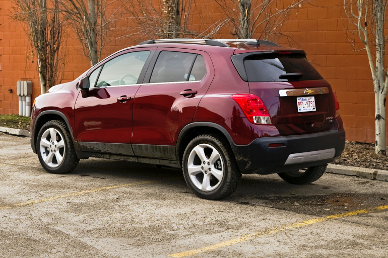 MAKING TRAX: Tooling about in Chevy's latest sport ute/CUV/SUV - slide 2