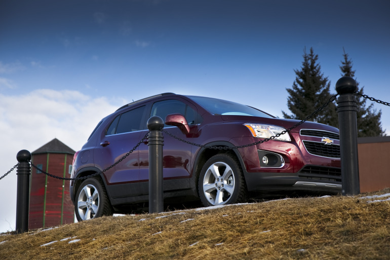 MAKING TRAX: Tooling about in Chevy's latest sport ute/CUV/SUV - slide 4