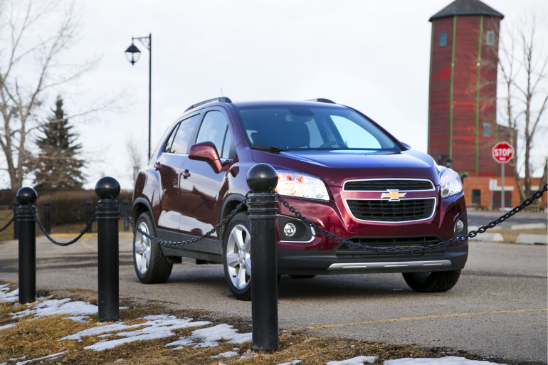 MAKING TRAX: Tooling about in Chevy's latest sport ute/CUV/SUV - slide 3