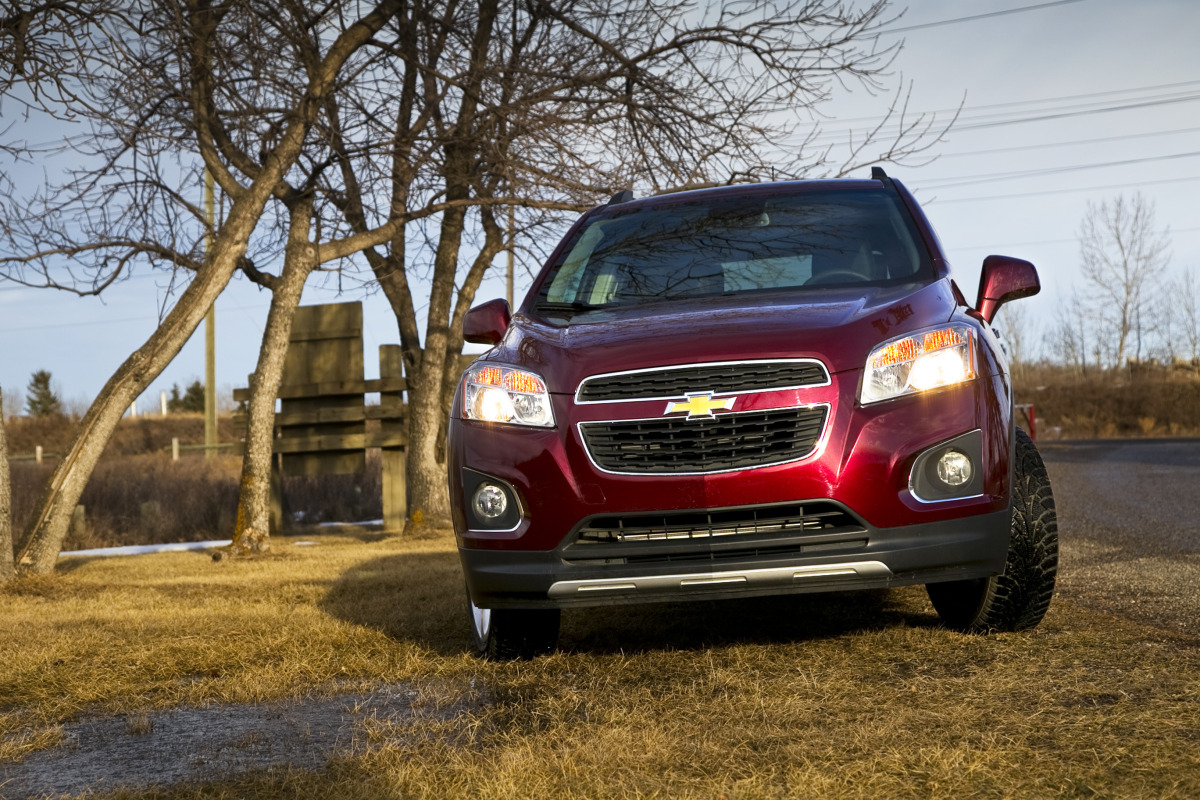 MAKING TRAX: Tooling about in Chevy's latest sport ute/CUV/SUV - slide 17