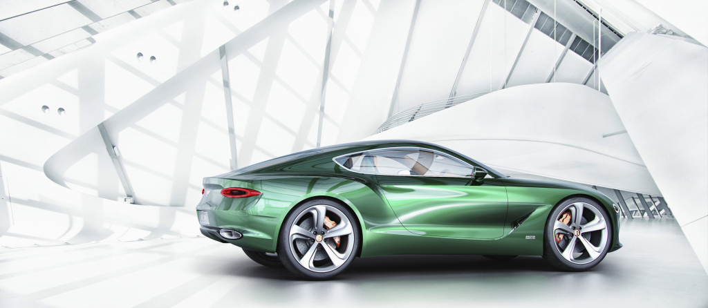 Bentley EXP 10 Speed 6 also made a surprise appearance at the Geneva Auto Show