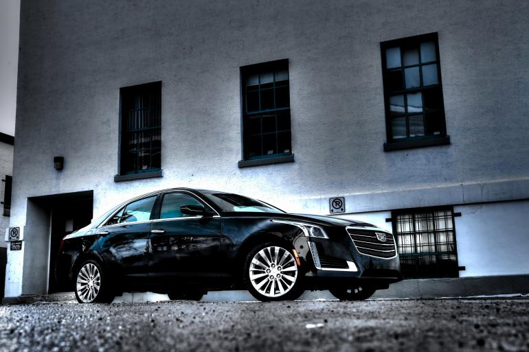 NO HOONING OF THE IN-LAWS IN CADILLAC'S NEW CTS4 LUXURY BARGE - slide 24