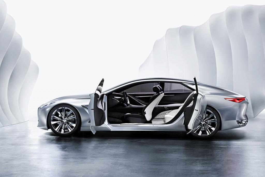 Infiniti Q80 Concept sporting suicide doors (Image. Infiniti)