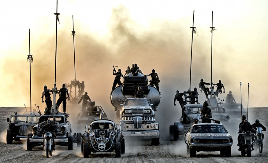 Fury Road rush hour...road rage included