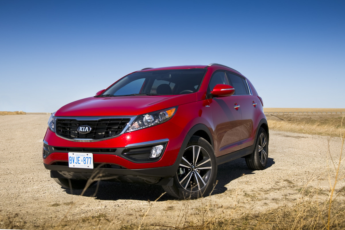 THE AGE OF SPORT: Kia's 260 hp AWD Sportage shows the Koreans are really not f*cking around - slide 1