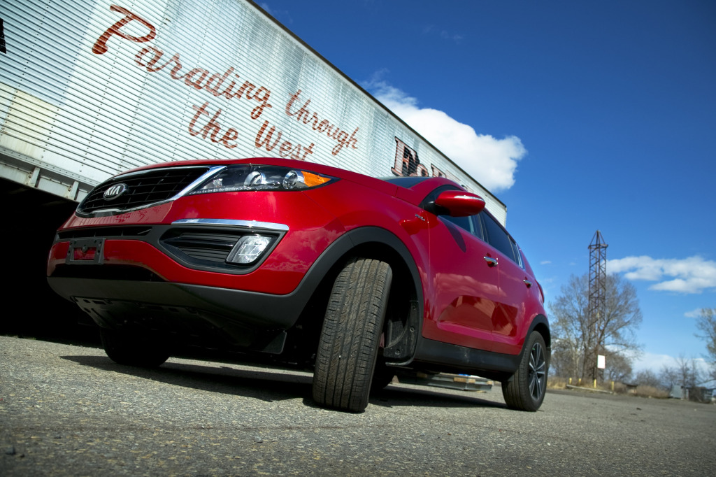 Sportage fits comfortably into the west