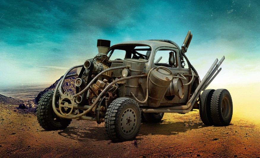 MAD MAX'S FURY ROAD VEHICLE LINEUP IS THE STUFF OF POST-APOCALYPTIC WETDREAMS - slide 3