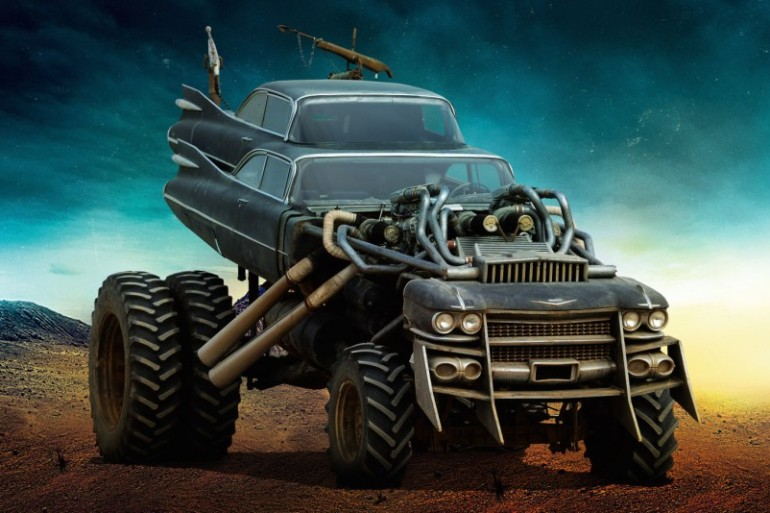 MAD MAX'S FURY ROAD VEHICLE LINEUP IS THE STUFF OF POST-APOCALYPTIC WETDREAMS - slide 4