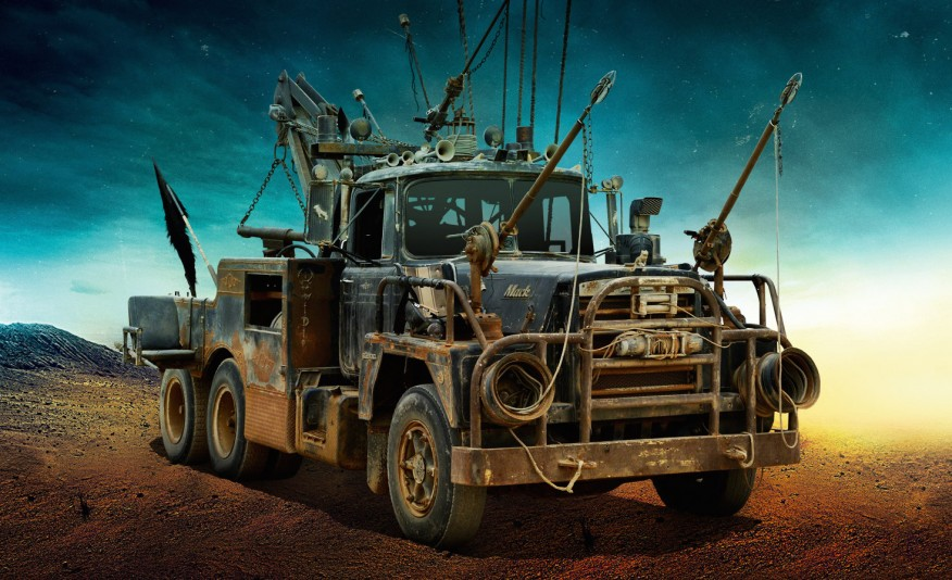 MAD MAX'S FURY ROAD VEHICLE LINEUP IS THE STUFF OF POST-APOCALYPTIC WETDREAMS - slide 6