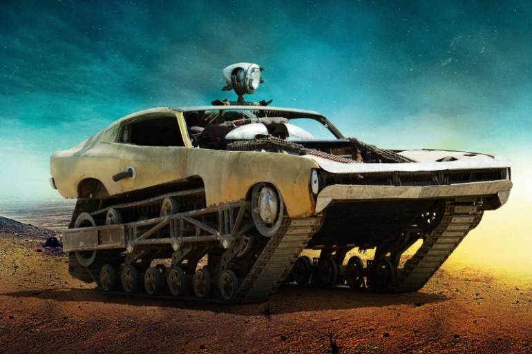 MAD MAX'S FURY ROAD VEHICLE LINEUP IS THE STUFF OF POST-APOCALYPTIC WETDREAMS - slide 8