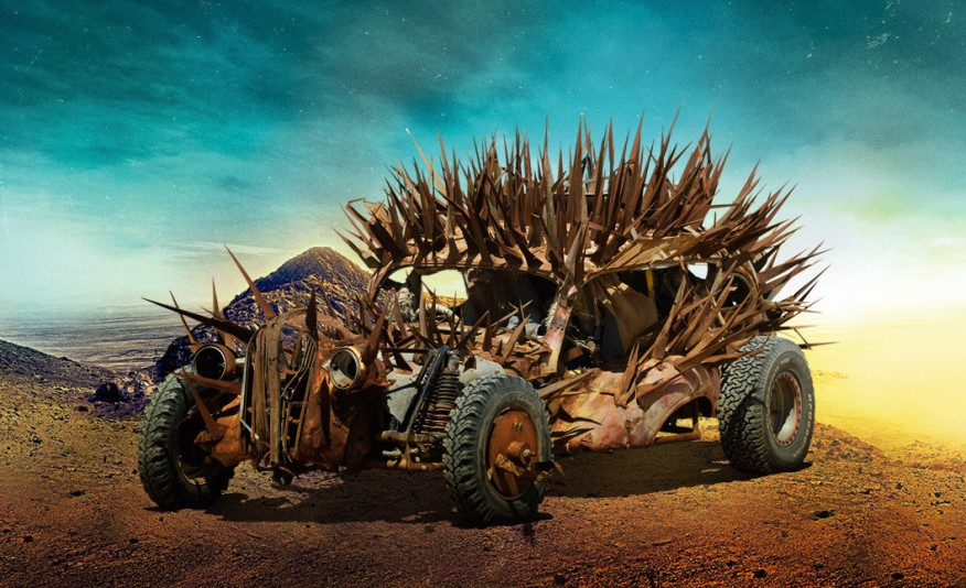 MAD MAX'S FURY ROAD VEHICLE LINEUP IS THE STUFF OF POST-APOCALYPTIC WETDREAMS - slide 9