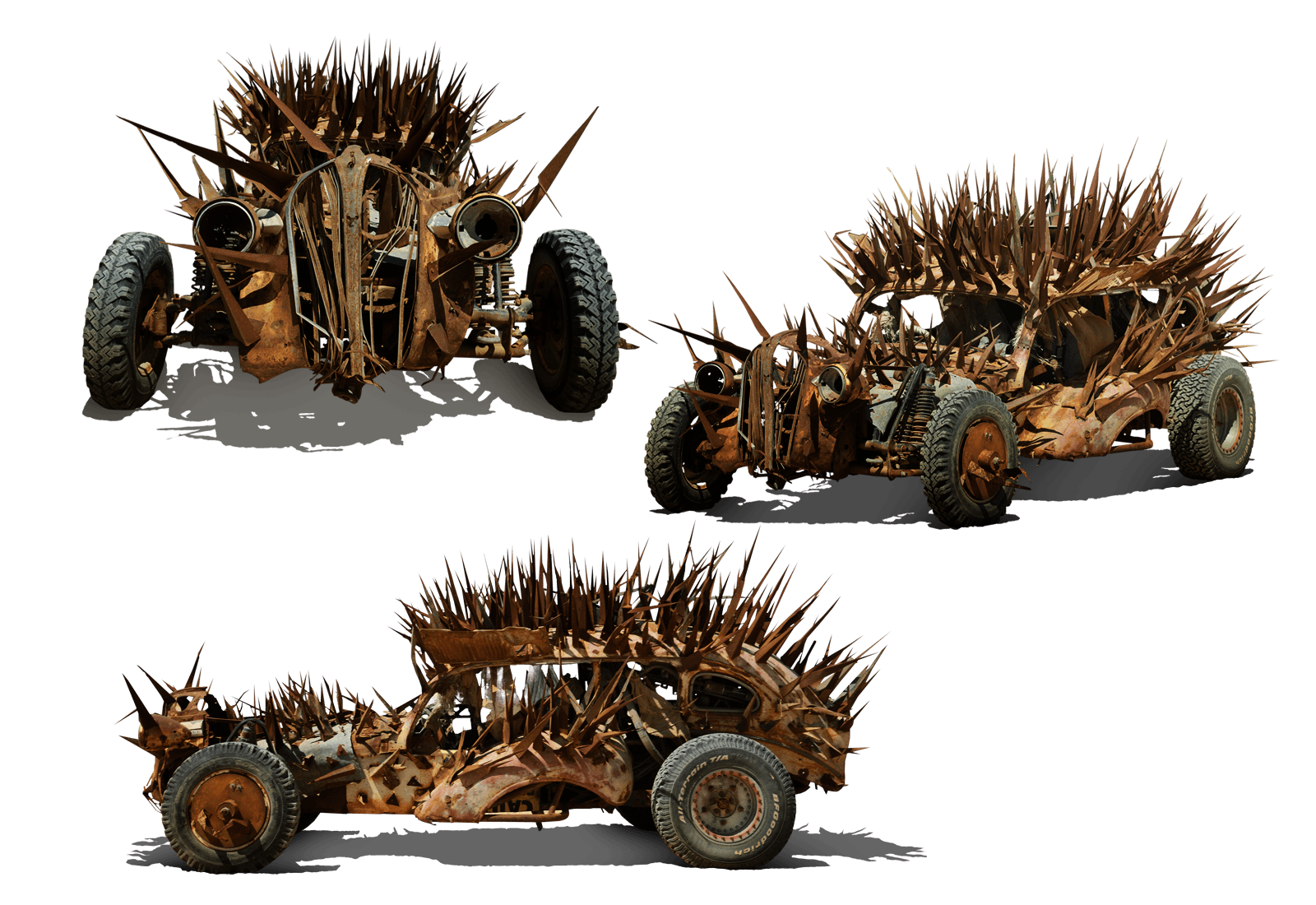 MAD MAX'S FURY ROAD VEHICLE LINEUP IS THE STUFF OF POST ...