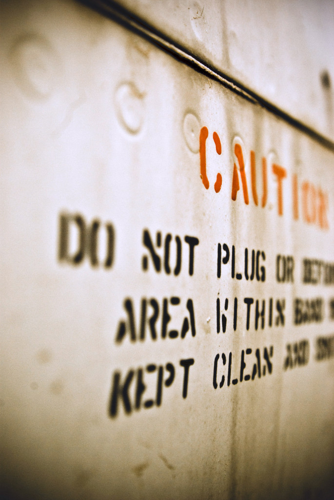 caution plug