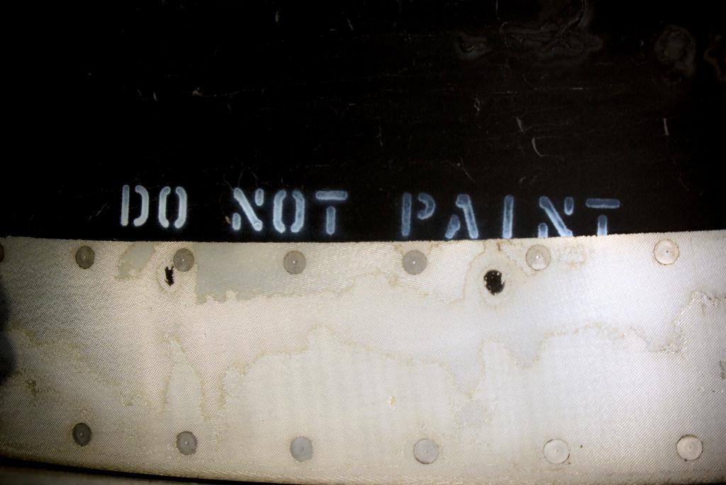 do not paint
