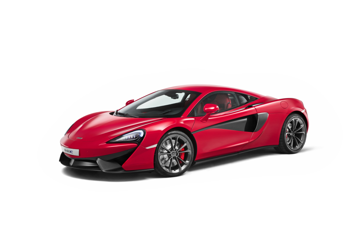 McLAREN UNVEILS 540C COUPE @ SHANGHAI AUTO SHOW, THE SECOND IN THE MARQUES NEW SPORTS SERIES - slide 1