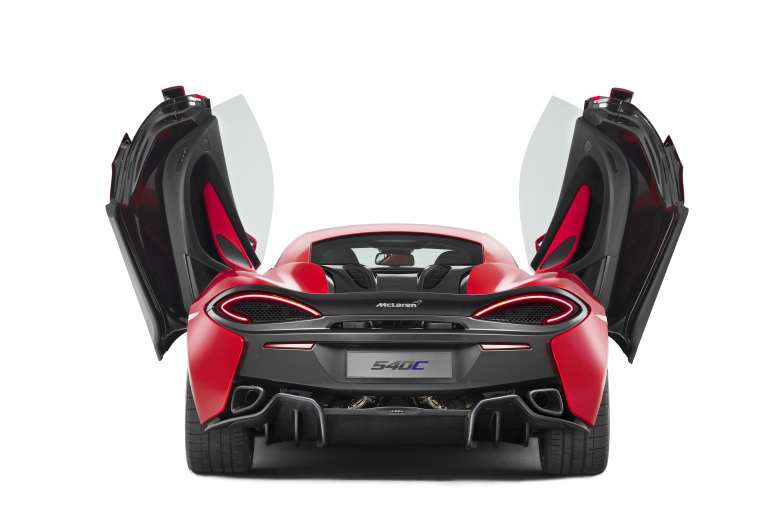 McLAREN UNVEILS 540C COUPE @ SHANGHAI AUTO SHOW, THE SECOND IN THE MARQUES NEW SPORTS SERIES - slide 8