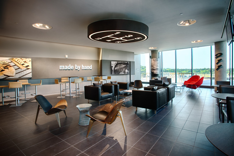 Space by HOK & cars by Porsche, the new $100 million Experience Center opens in Atlanta - slide 21