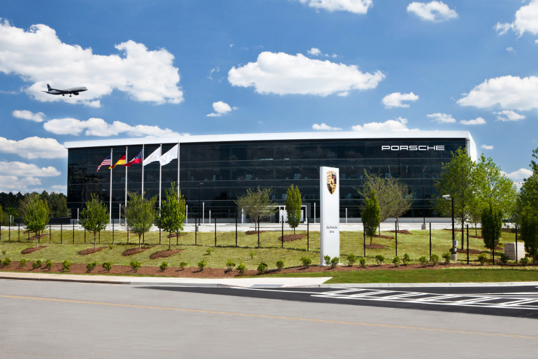 Space by HOK & cars by Porsche, the new $100 million Experience Center opens in Atlanta - slide 12