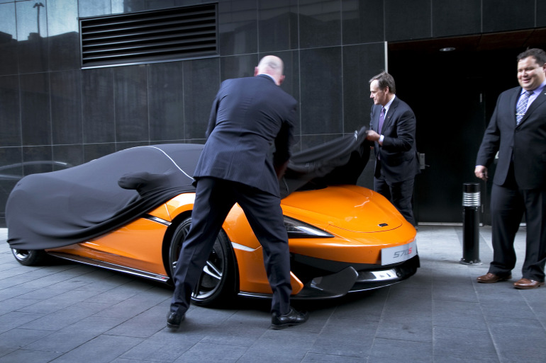 ORANGE CRUSH! McLaren debuts retina-altering 570S in Calgary - slide 1