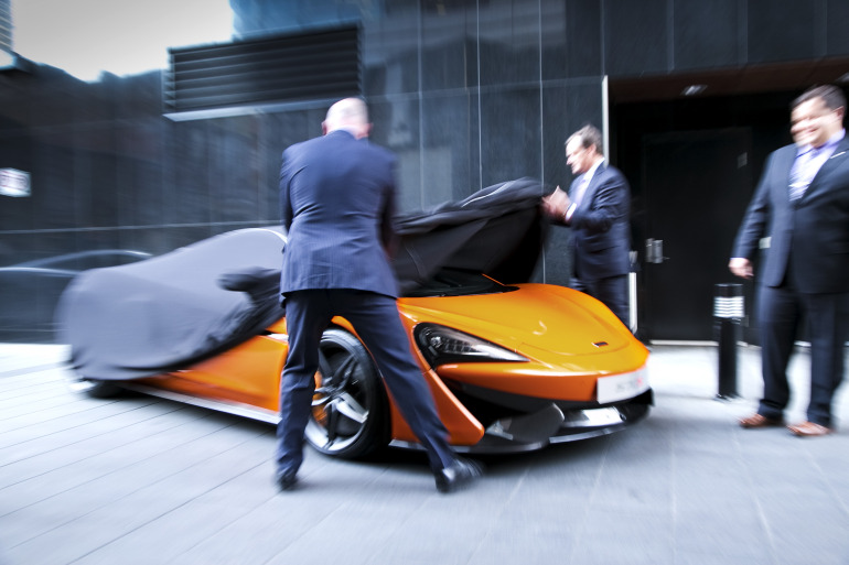 ORANGE CRUSH! McLaren debuts retina-altering 570S in Calgary - slide 2