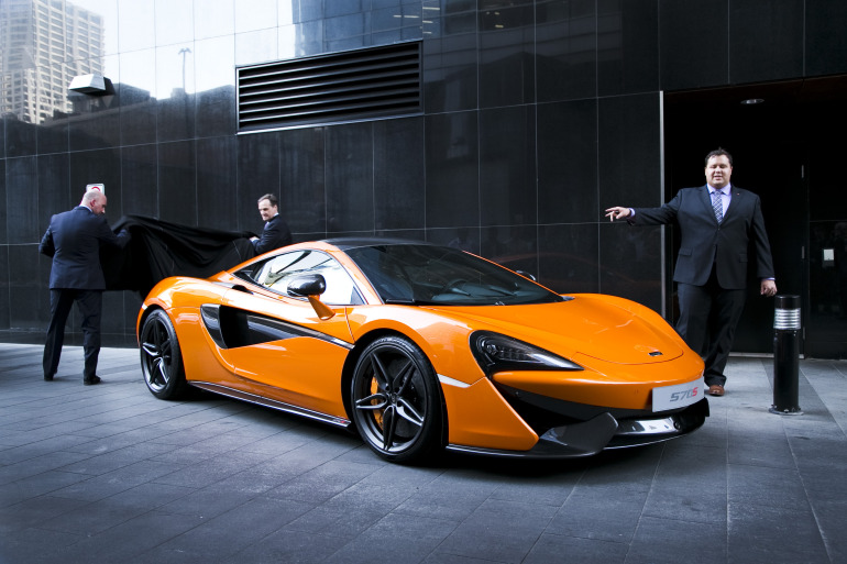 ORANGE CRUSH! McLaren debuts retina-altering 570S in Calgary - slide 3