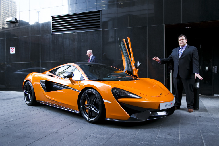 ORANGE CRUSH! McLaren debuts retina-altering 570S in Calgary - slide 4