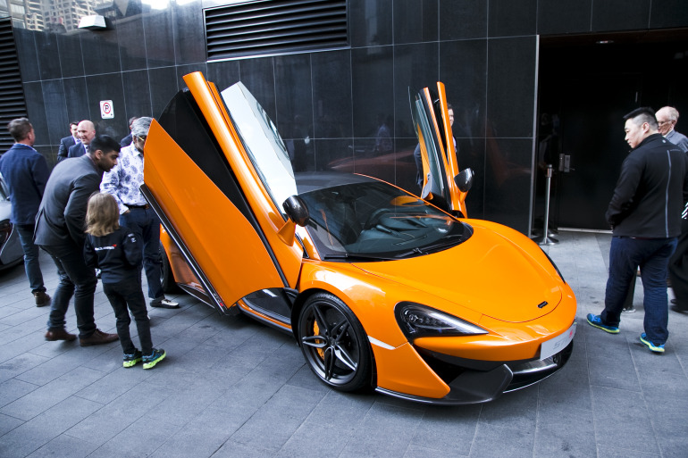 ORANGE CRUSH! McLaren debuts retina-altering 570S in Calgary - slide 5