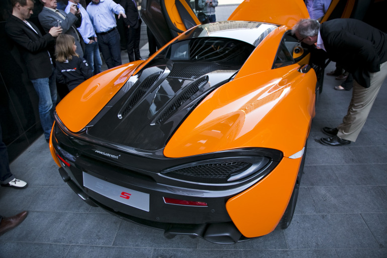 ORANGE CRUSH! McLaren debuts retina-altering 570S in Calgary - slide 7