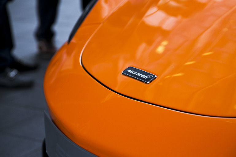 ORANGE CRUSH! McLaren debuts retina-altering 570S in Calgary - slide 13