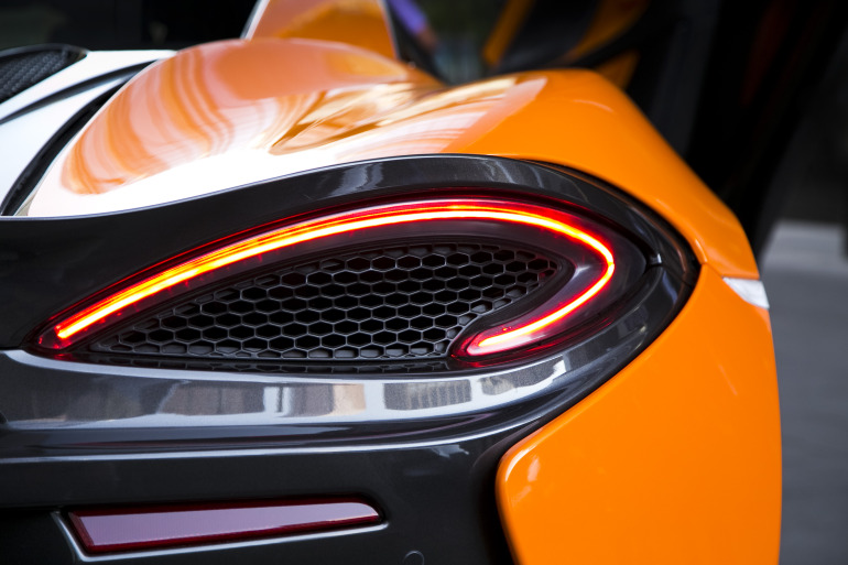 ORANGE CRUSH! McLaren debuts retina-altering 570S in Calgary - slide 19