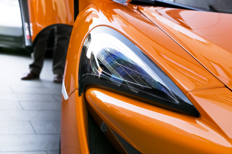 ORANGE CRUSH! McLaren debuts retina-altering 570S in Calgary - slide 35