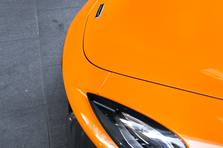 ORANGE CRUSH! McLaren debuts retina-altering 570S in Calgary - slide 25
