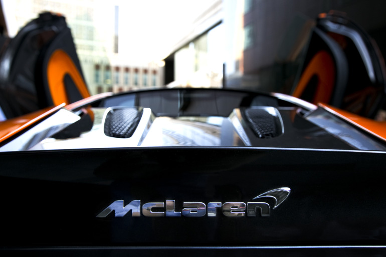 ORANGE CRUSH! McLaren debuts retina-altering 570S in Calgary - slide 28