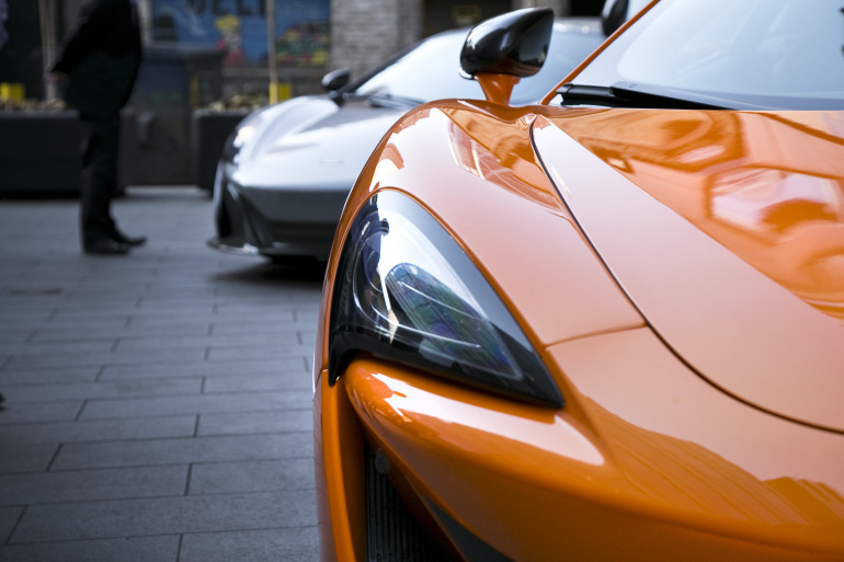 ORANGE CRUSH! McLaren debuts retina-altering 570S in Calgary - slide 42