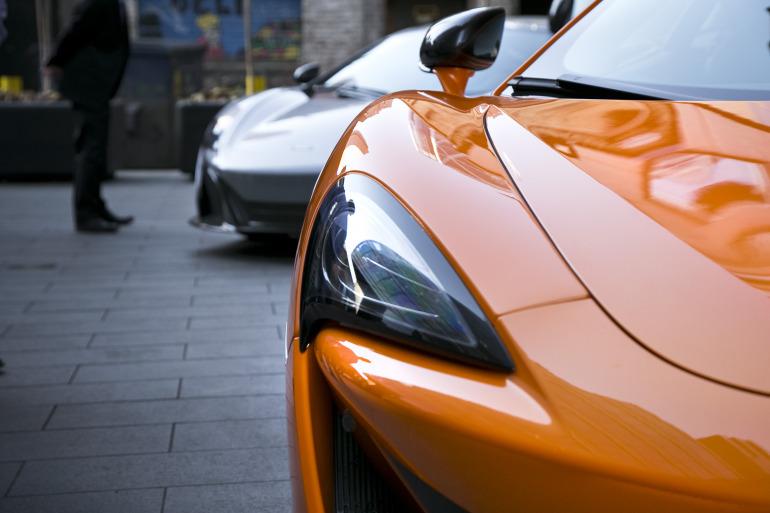 ORANGE CRUSH! McLaren debuts retina-altering 570S in Calgary - slide 42