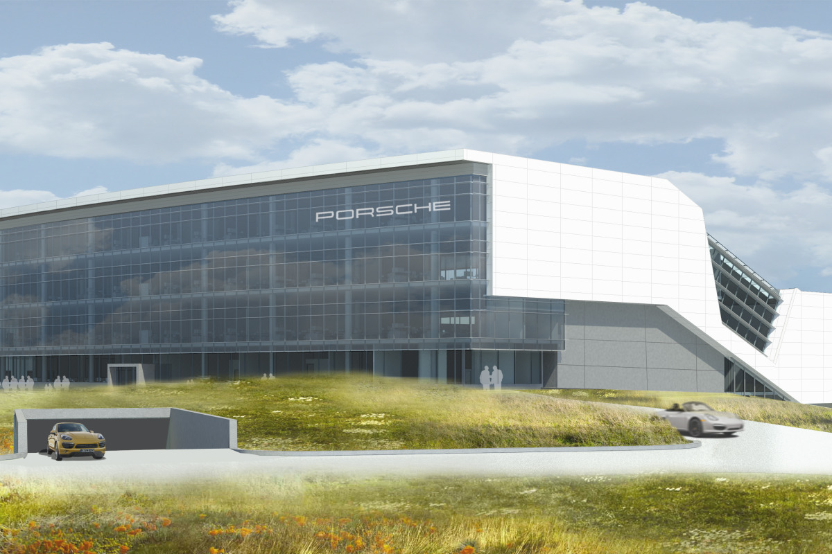 Space by HOK & cars by Porsche, the new $100 million Experience Center opens in Atlanta - slide 15