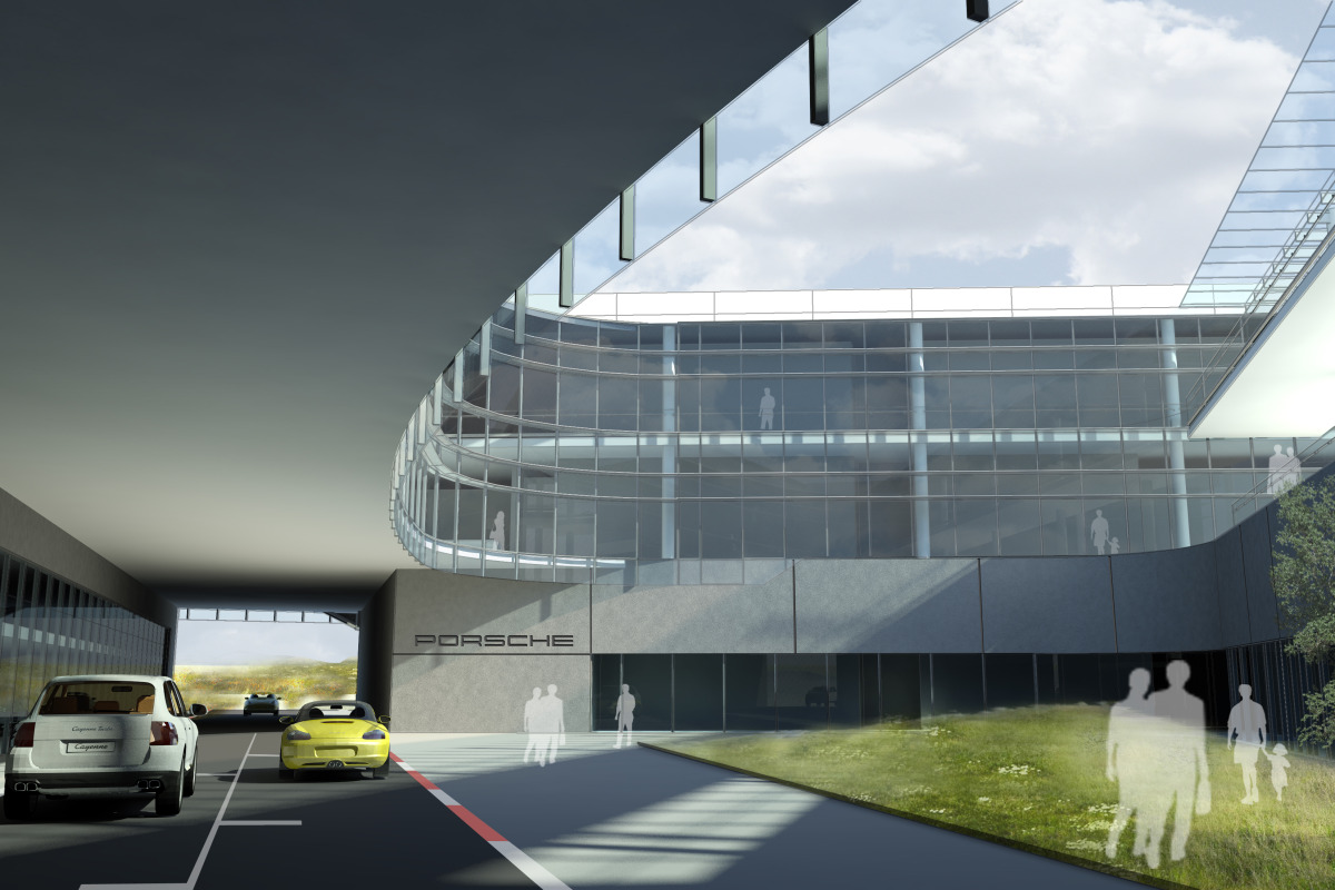 Space by HOK & cars by Porsche, the new $100 million Experience Center opens in Atlanta - slide 18