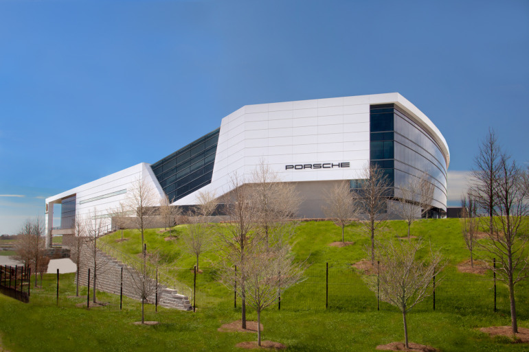 Space by HOK & cars by Porsche, the new $100 million Experience Center opens in Atlanta - slide 19