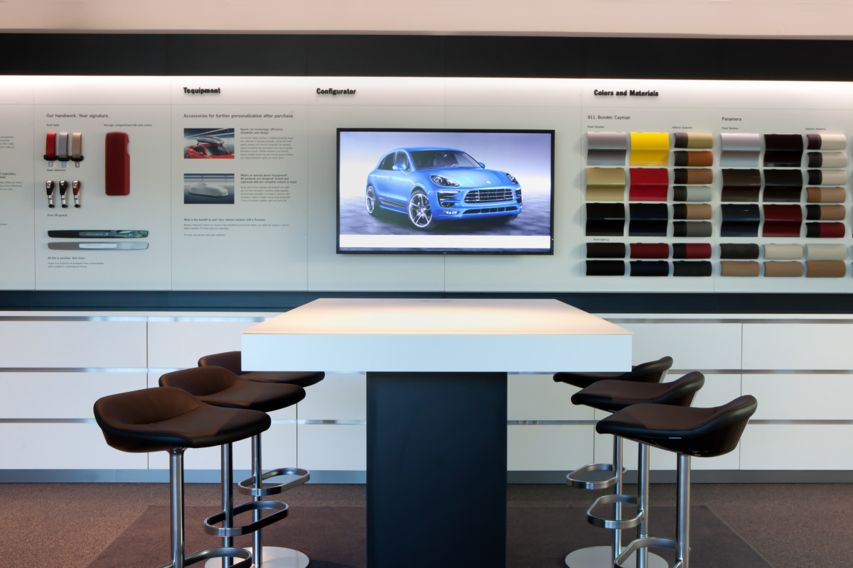 Space by HOK & cars by Porsche, the new $100 million Experience Center opens in Atlanta - slide 9