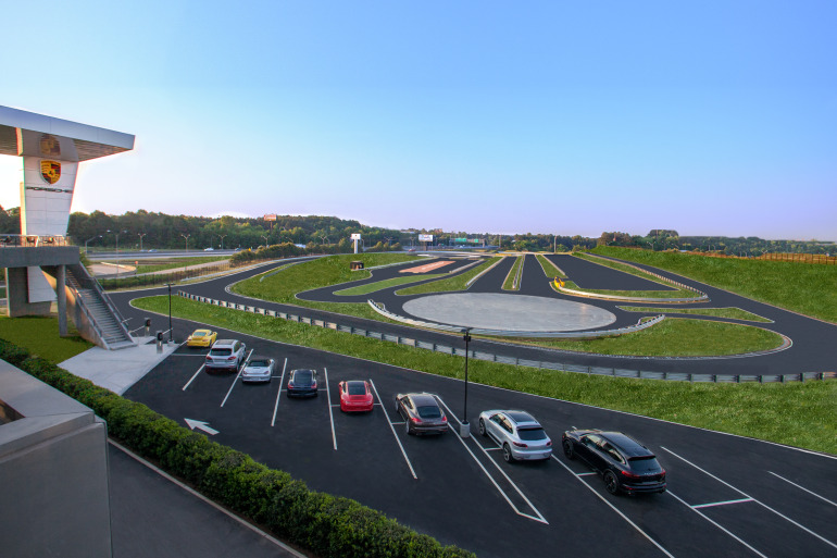 Space by HOK & cars by Porsche, the new $100 million Experience Center opens in Atlanta - slide 8